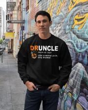 Druncle Crewneck Sweatshirt lifestyle-unisex-sweatshirt-front-2