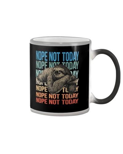 sloth nope not today hoodie sweate 146592