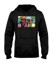 Unique Portland - Block by Block  Hooded Sweatshirt thumbnail