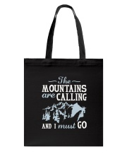 The Mountains Are Calling Tote Bag thumbnail
