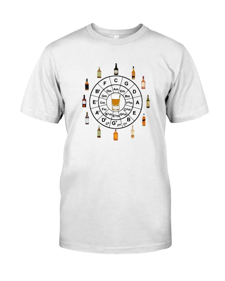 Circle of Whiskey 5th  Classic T-Shirt