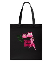 SAVE THE HOOTERS Tote Bag tile