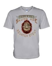 Stinking Skunk Ape Stout  V-Neck T-Shirt thumbnail