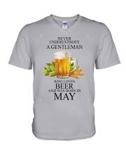 nvu beer may10107 V-Neck T-Shirt thumbnail