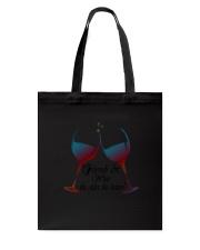 Friends and Wine the older the better Women's V-Ne Tote Bag thumbnail