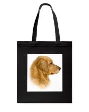 Golden Retriever Portrait Ash Grey  Tote Bag thumbnail
