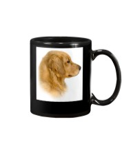 Golden Retriever Portrait Ash Grey  Mug thumbnail