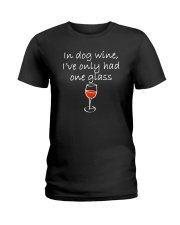 In Dog Wine  Ladies T-Shirt thumbnail