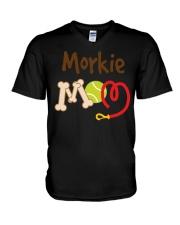 Women's Dark  V-Neck T-Shirt thumbnail