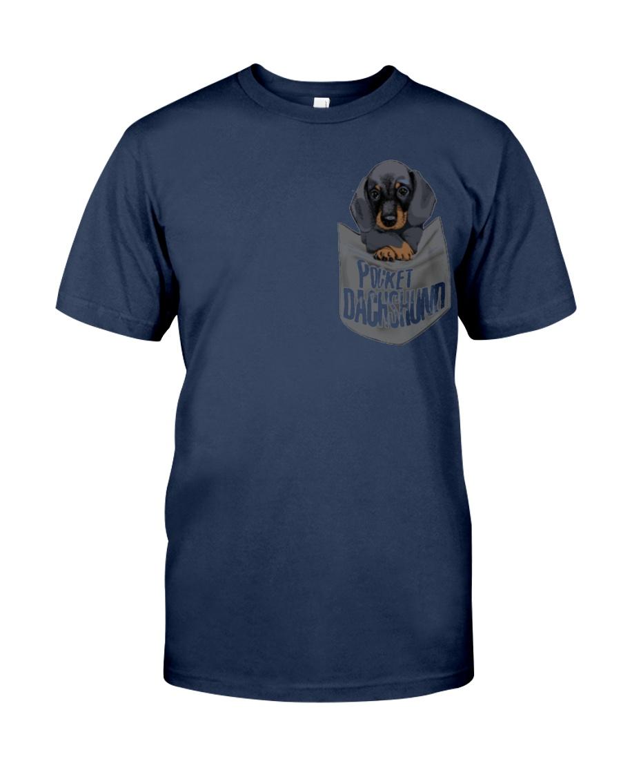 Pocket Dachshund 1 Classic T-Shirt