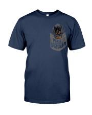 Pocket Dachshund 1 Classic T-Shirt front