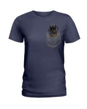 Pocket Dachshund 1 Ladies T-Shirt thumbnail