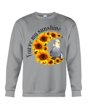 Cockatiel You Are My Sunshine  Crewneck Sweatshirt thumbnail