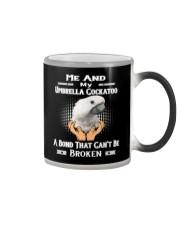 True Love Me And My Umbrella Cockatoo  Color Changing Mug thumbnail