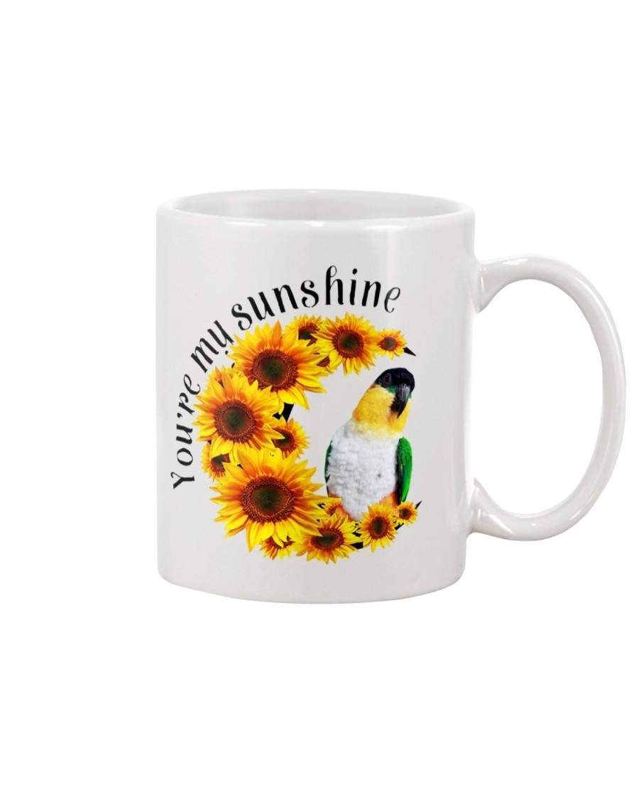 Black Head Caique You Are My Sunshine   Mug