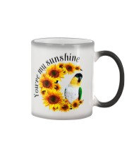 Black Head Caique You Are My Sunshine   Color Changing Mug thumbnail