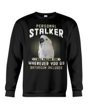 Personal Stalker Umbrella Cockatoo Crewneck Sweatshirt thumbnail