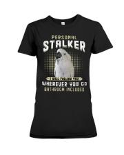 Personal Stalker Umbrella Cockatoo Premium Fit Ladies Tee thumbnail