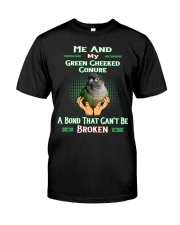True Love Me And My Green Cheeked Conure Classic T-Shirt front