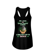 True Love Me And My Green Cheeked Conure Ladies Flowy Tank thumbnail