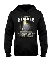 Personal Stalker Cockatiel  Hooded Sweatshirt tile