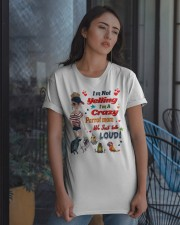 Just For Parrot Mom  Classic T-Shirt apparel-classic-tshirt-lifestyle-08