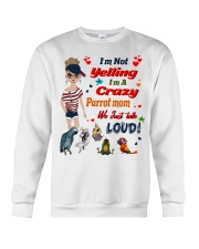 Just For Parrot Mom  Crewneck Sweatshirt thumbnail