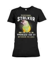 Personal Stalker Senegal Parrot Premium Fit Ladies Tee thumbnail