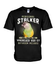 Personal Stalker Senegal Parrot V-Neck T-Shirt thumbnail