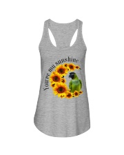 Nanday Conure You Are My Sunshine  Ladies Flowy Tank thumbnail