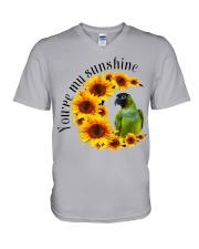 Nanday Conure You Are My Sunshine  V-Neck T-Shirt thumbnail