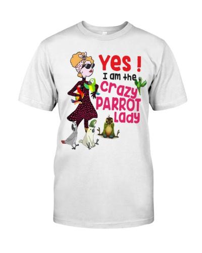 I'm The Crazy Parrot Lady