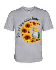 Caique You Are My Sunshine  V-Neck T-Shirt thumbnail