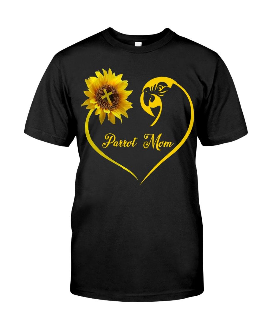 Parrot Mom  Classic T-Shirt