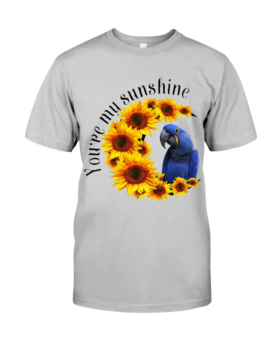 Hyacinth Macaw You Are My Sunshine  Classic T-Shirt