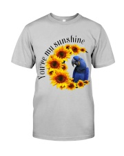 Hyacinth Macaw You Are My Sunshine  Classic T-Shirt front