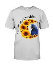 Hyacinth Macaw You Are My Sunshine  Premium Fit Mens Tee thumbnail