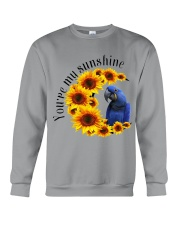 Hyacinth Macaw You Are My Sunshine  Crewneck Sweatshirt thumbnail