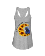 Hyacinth Macaw You Are My Sunshine  Ladies Flowy Tank thumbnail