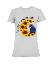 Hyacinth Macaw You Are My Sunshine  Premium Fit Ladies Tee thumbnail