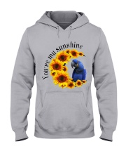 Hyacinth Macaw You Are My Sunshine  Hooded Sweatshirt thumbnail