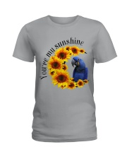 Hyacinth Macaw You Are My Sunshine  Ladies T-Shirt thumbnail