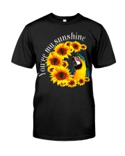 Blue And Gold Macaw You Are My Sunshine Classic T-Shirt front