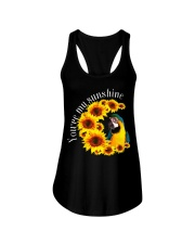 Blue And Gold Macaw You Are My Sunshine Ladies Flowy Tank thumbnail