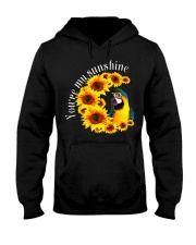 Blue And Gold Macaw You Are My Sunshine Hooded Sweatshirt thumbnail