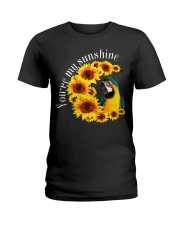Blue And Gold Macaw You Are My Sunshine Ladies T-Shirt thumbnail