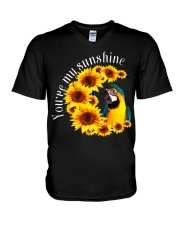 Blue And Gold Macaw You Are My Sunshine V-Neck T-Shirt thumbnail