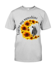 African Grey Parrot You Are My Sunshine  Premium Fit Mens Tee thumbnail