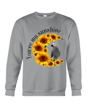 African Grey Parrot You Are My Sunshine  Crewneck Sweatshirt thumbnail