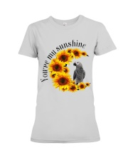 African Grey Parrot You Are My Sunshine  Premium Fit Ladies Tee thumbnail